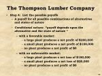 the thompson lumber company2
