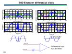 esd event on differential clock1