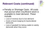 relevant costs continued1