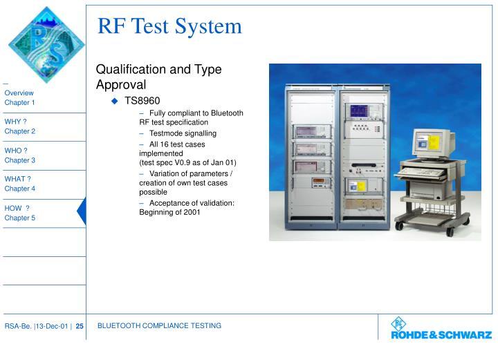 RF Test System