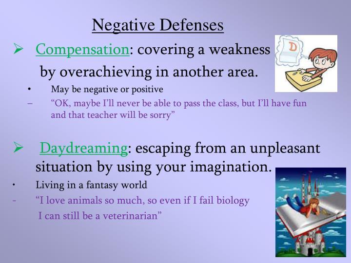 Negative Defenses