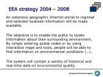 eea strategy 2004 2008