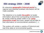 eea strategy 2004 20081