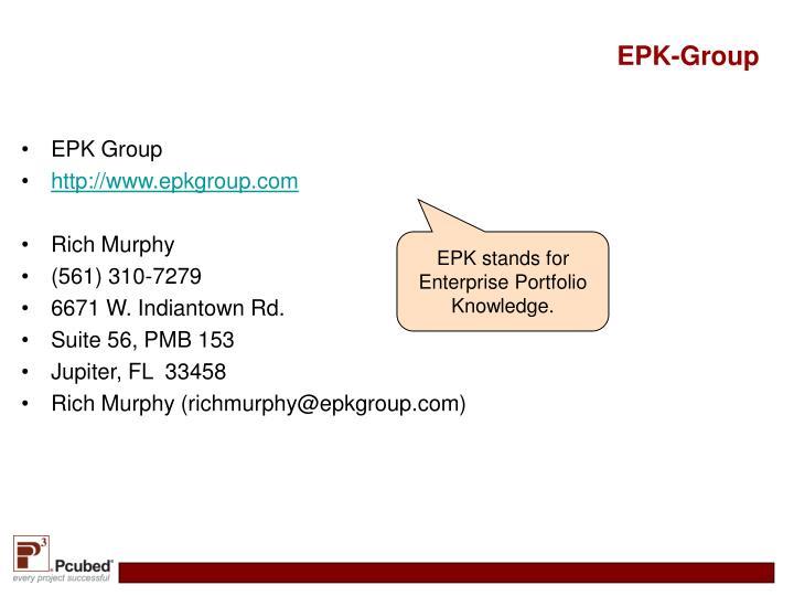Epk group1