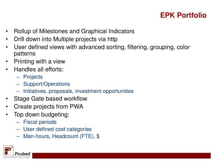 EPK Portfolio