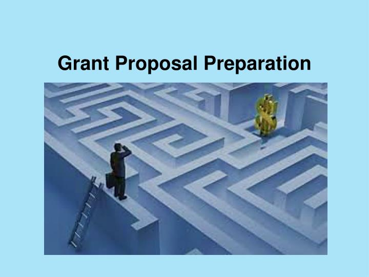 Grant proposal preparation