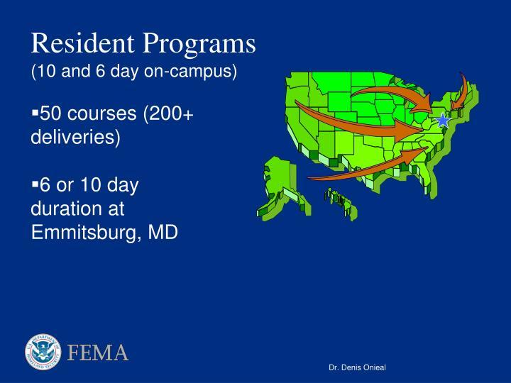 Resident Programs