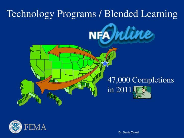 Technology Programs / Blended Learning