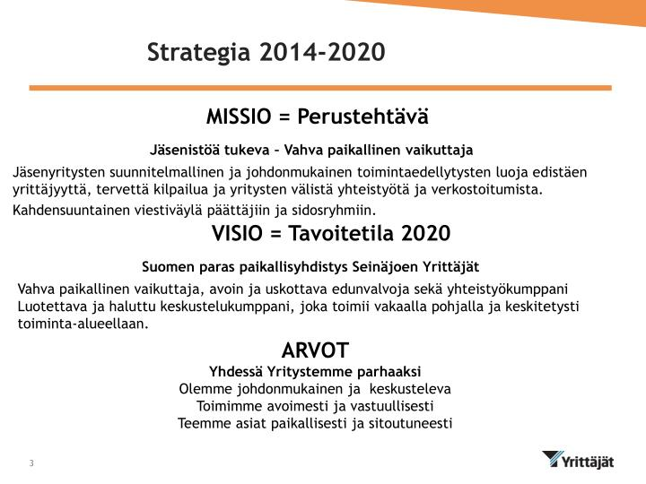 Strategia 2014 2020