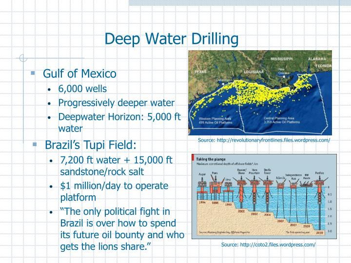 Deep Water Drilling