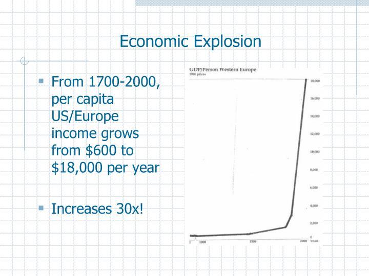 Economic Explosion