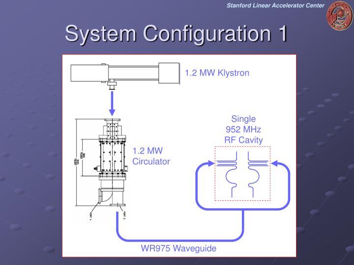 System Configuration 1