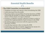 essential health benefits4