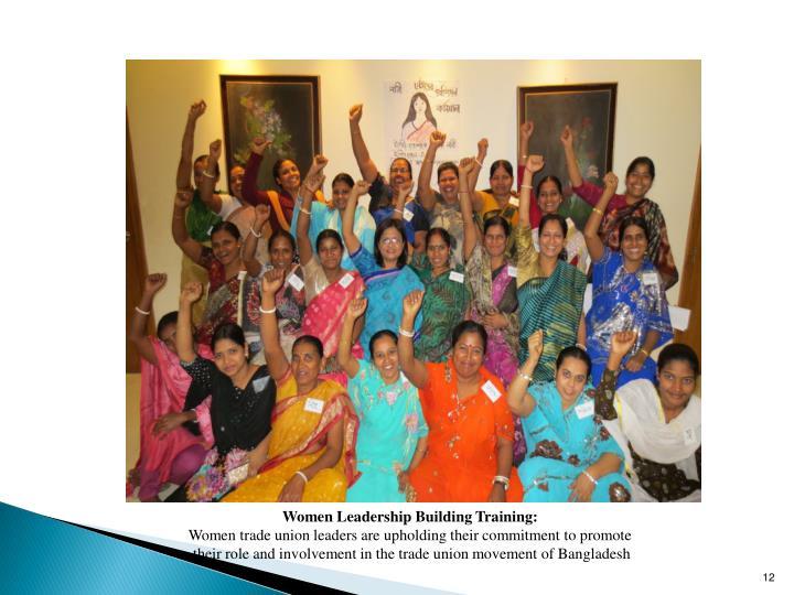 Women Leadership Building Training: