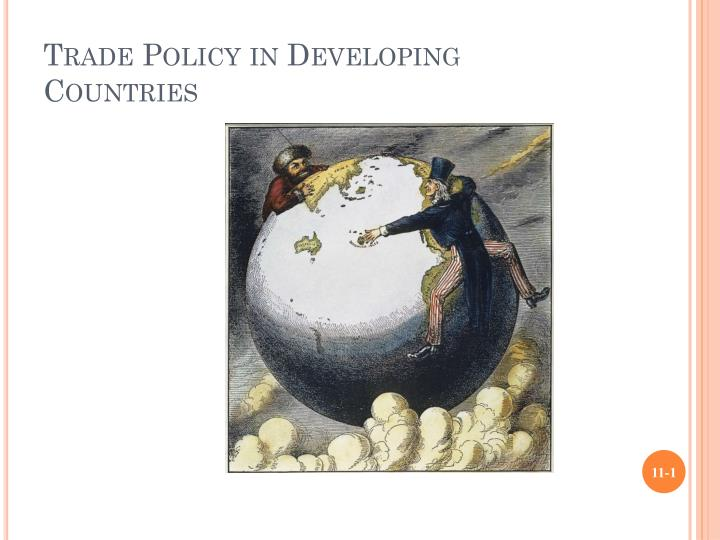 trade policy in developing countries n.