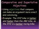 comparative and superlative adjectives11