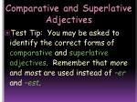 comparative and superlative adjectives15