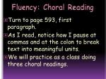 fluency choral reading1