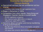 economic development offshore banking