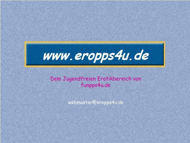 Dem Jugendfreien Erotikbereich von funpps4u.de