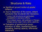 structures risks