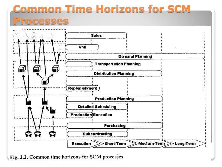 Common Time Horizons for SCM Processes
