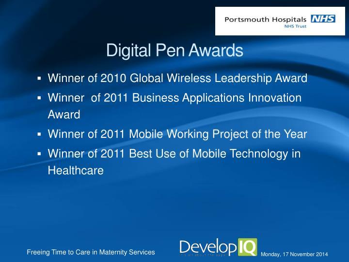 Digital Pen Awards
