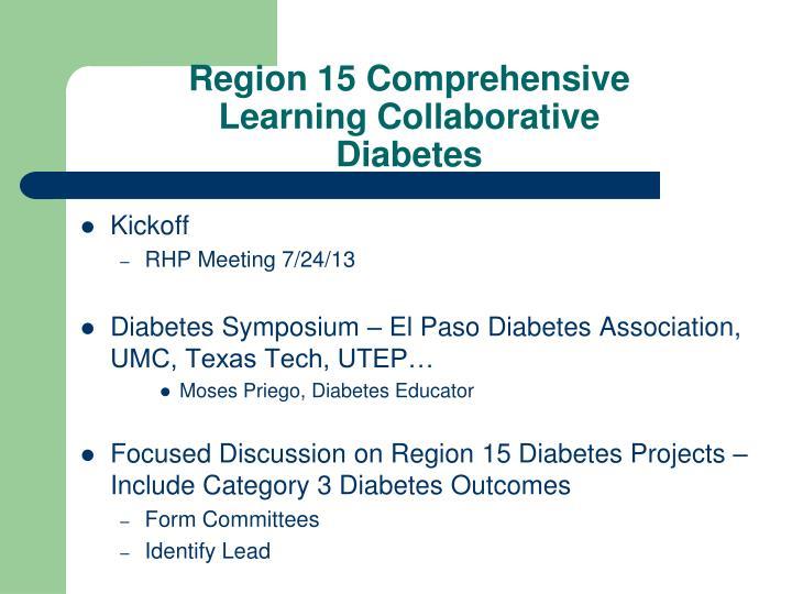 Region 15 Comprehensive