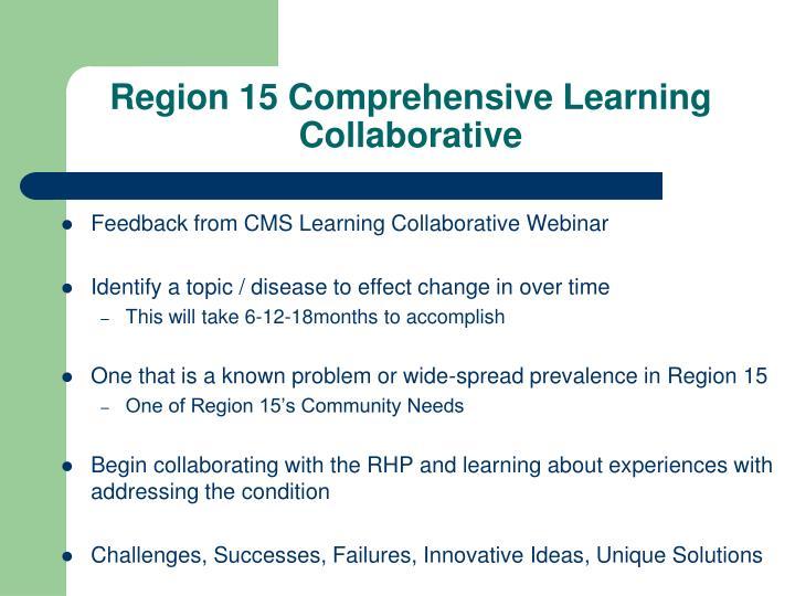 Region 15 Comprehensive Learning Collaborative