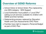 overview of send reforms