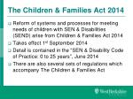 the children families act 2014