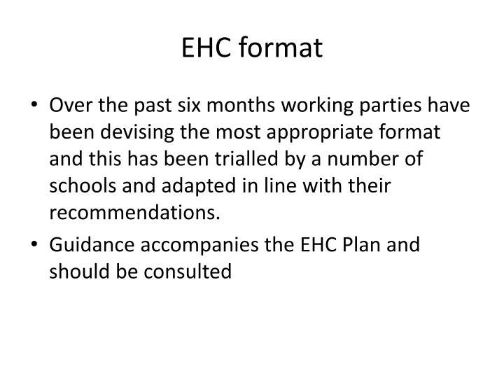 EHC format
