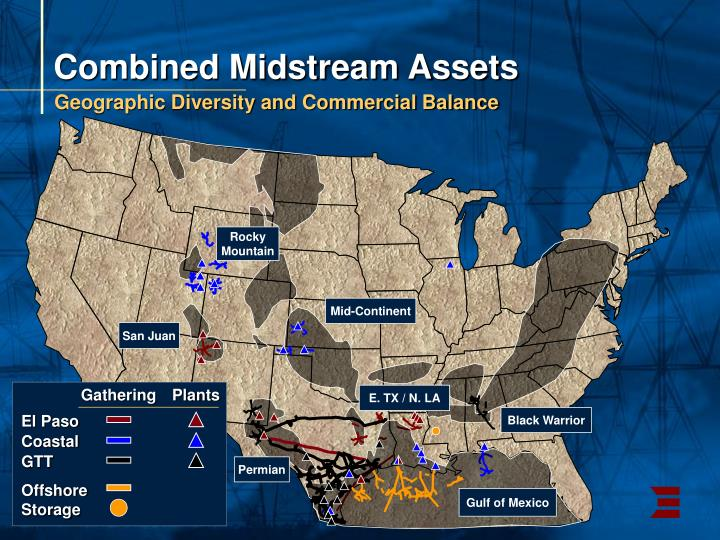Combined Midstream Assets