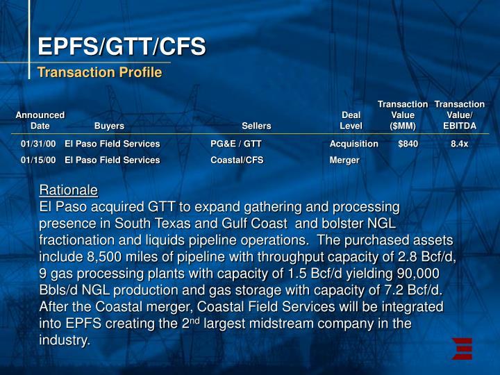 EPFS/GTT/CFS