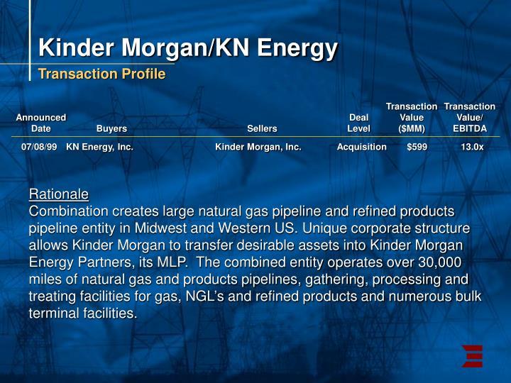 Kinder Morgan/KN Energy