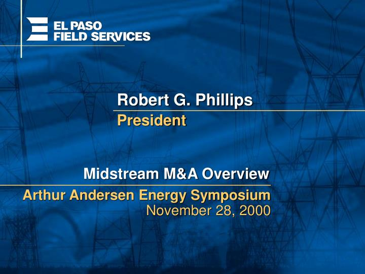 Robert G. Phillips