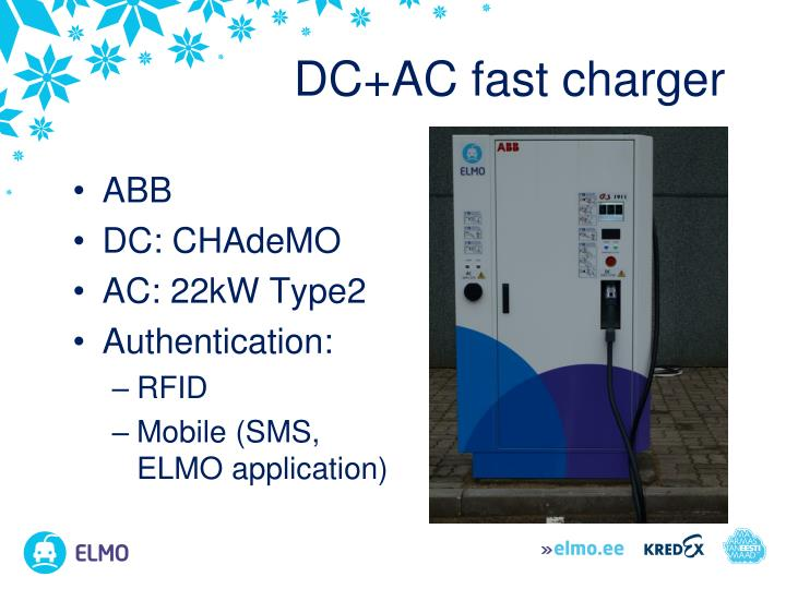 DC+AC fast charger