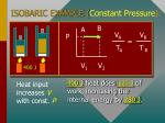isobaric example constant pressure