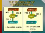 the second law of thermodynamics1