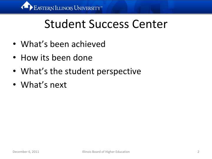 Student success center1
