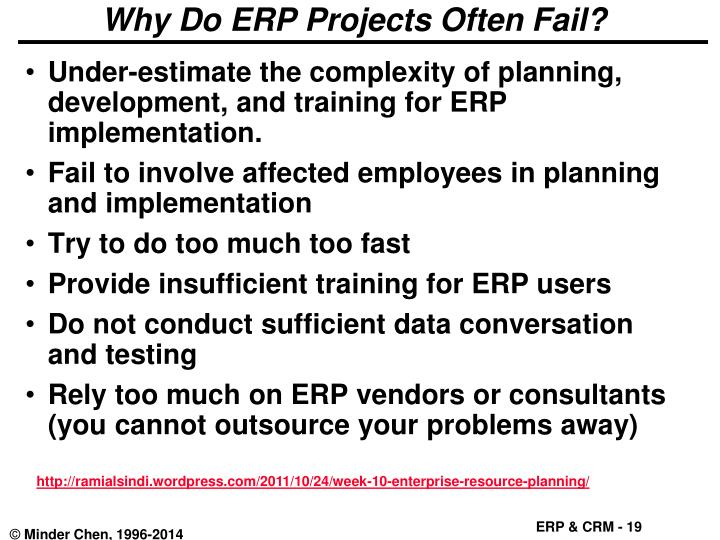 Why Do ERP Projects Often Fail?