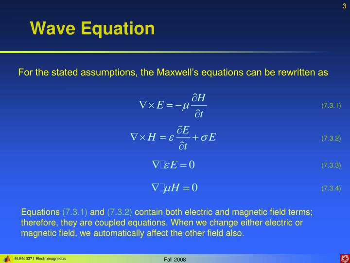 Wave equation1