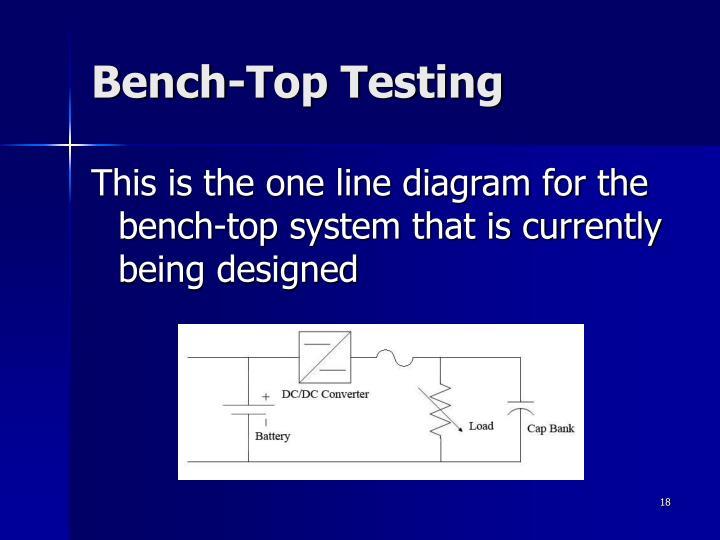 Bench-Top Testing