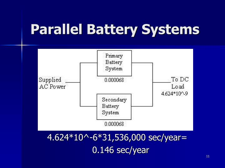 Parallel Battery Systems