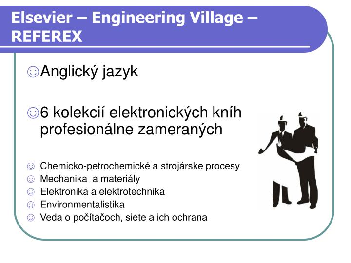Elsevier – Engineering Village – REFEREX