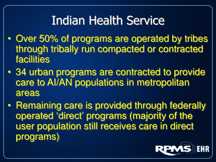 Indian health service1