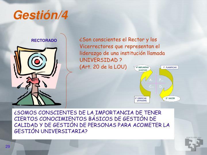 Gestión/4