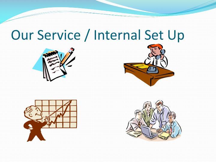 Our Service / Internal Set Up