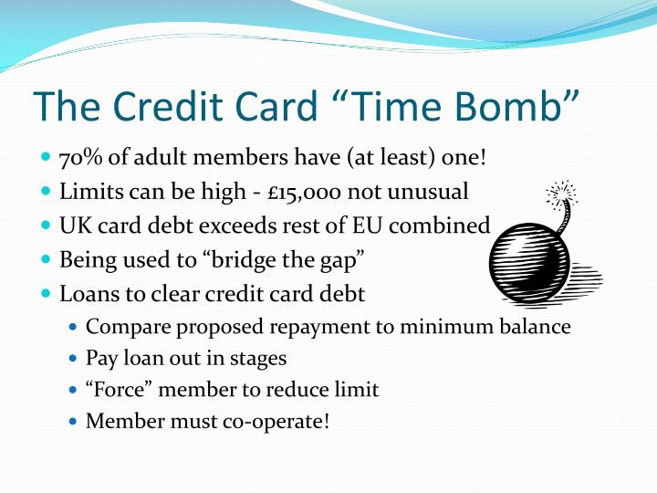 """The Credit Card """"Time Bomb"""""""