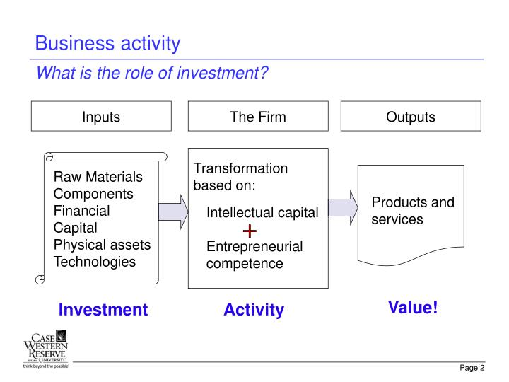 Business activity
